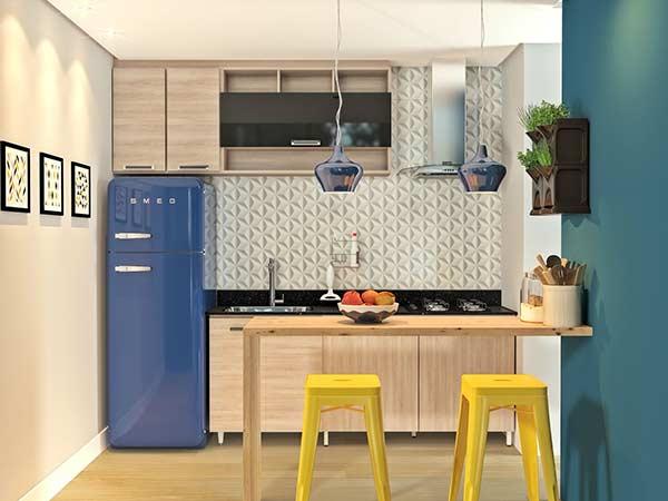Uma ideia para quem busca um armário planejado simples e barato
