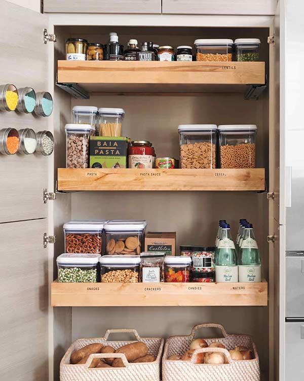 Gavetas para manter seu armário sempre organizado