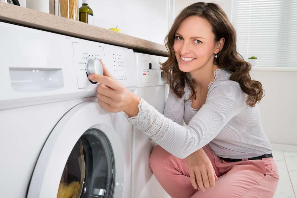 Ciclos de lavagem de uma máquina de lavar