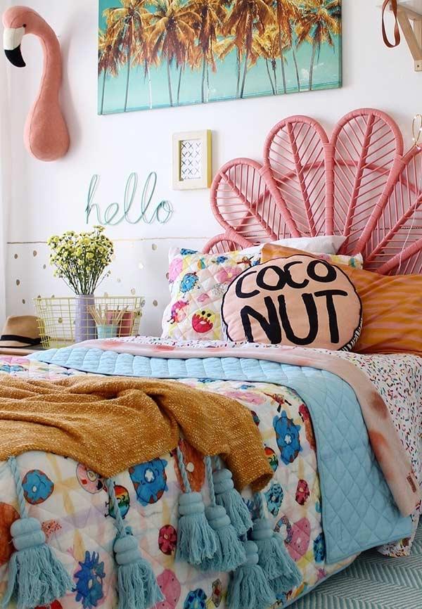 Misture almofadas e travesseiros