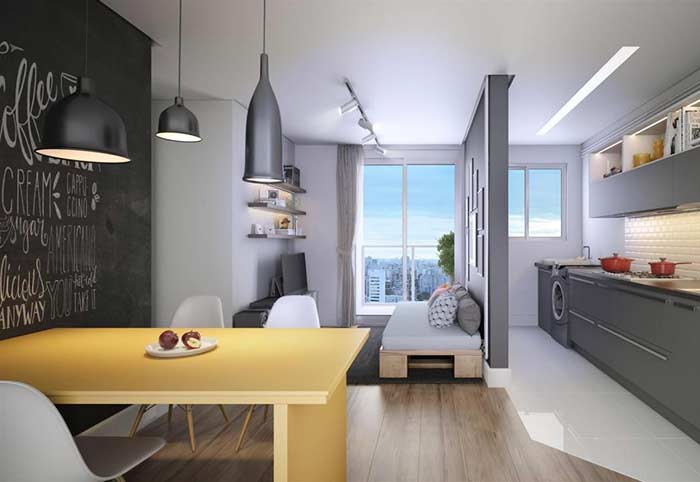 Recortes indispensáveis para apartamentos pequenos