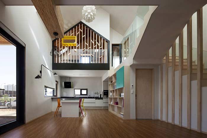 Tome cuidado com a extensão do piso para a cozinha