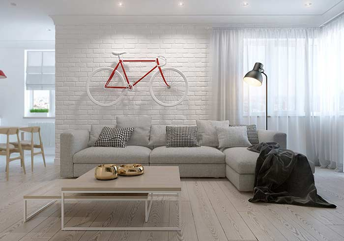 Um piso flexível para diversos estilos