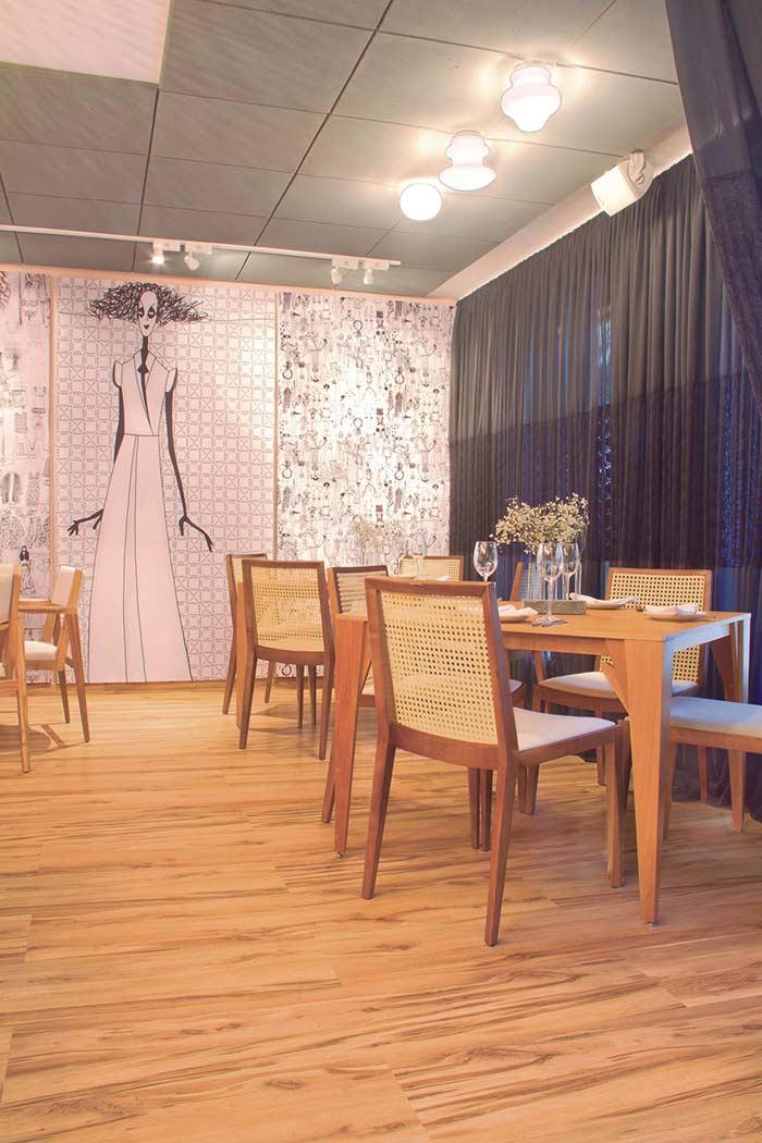 O piso laminado pode reproduzir o visual da madeira