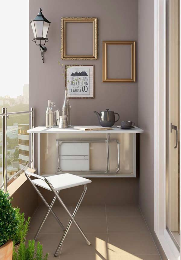 Mesa dobrável: uma opção prática e funcional para qualquer espaço pequeno