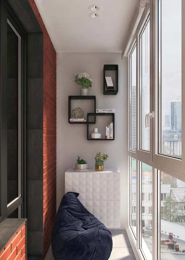 Aposte no conforto e praticidade dos pufes na varanda