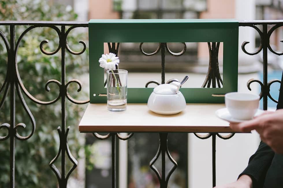 Mesa pendurável para varanda