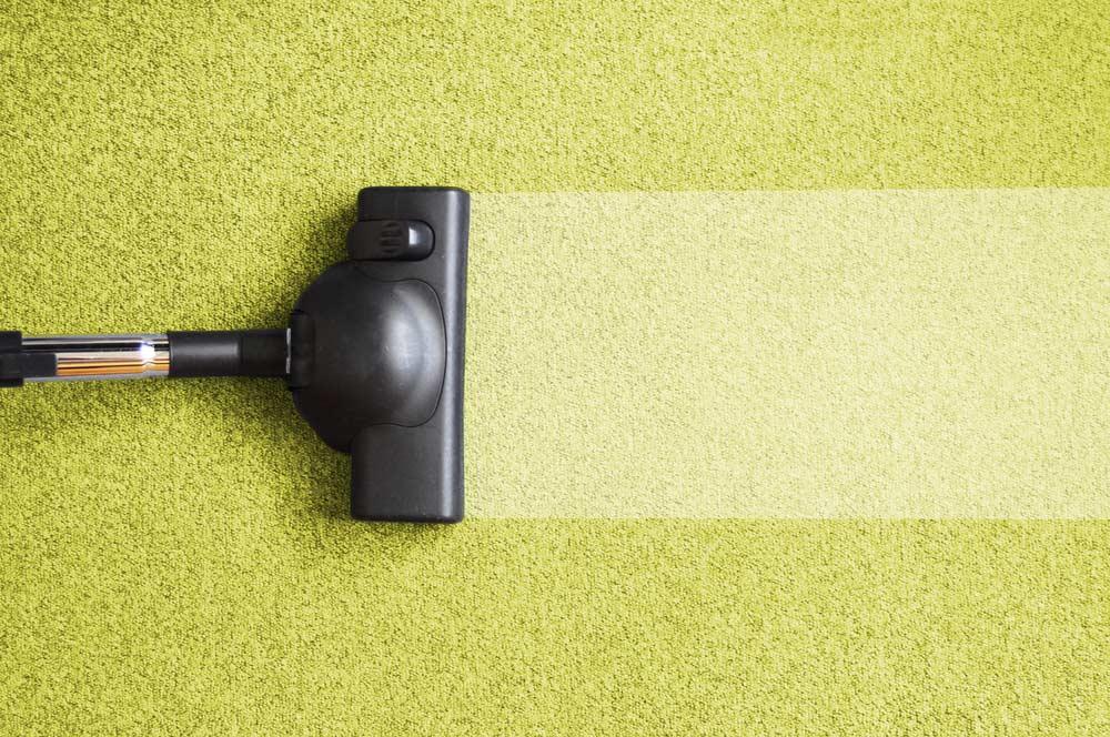 Conceito de limpeza de casa