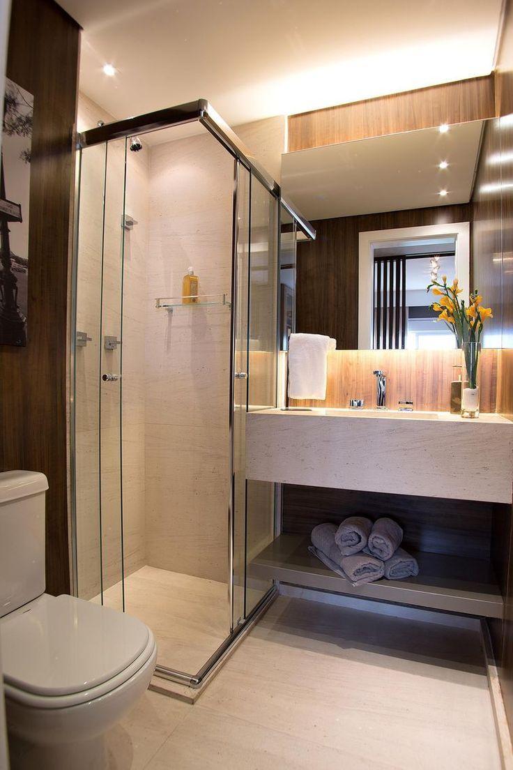 Piso para banheiro tipos dicas e 60 ideias de decora o for Pisos pequenos modernos