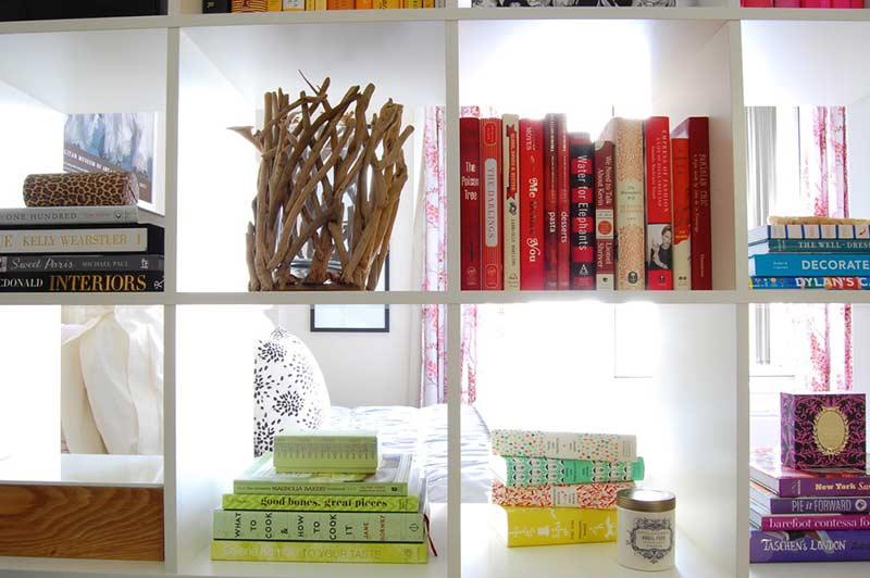 Na separação de ambientes em apartamentos do tipo studio