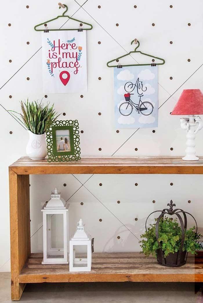Quadros decorativos no estilo DIY