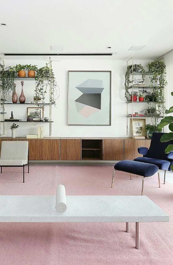 Use a sua cor favorita para combinar com quadros decorativos