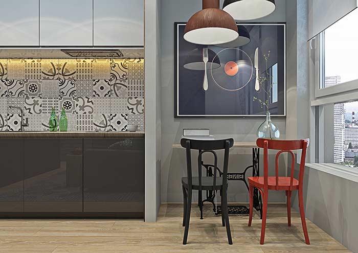 Quadro temático decorativo para cozinha
