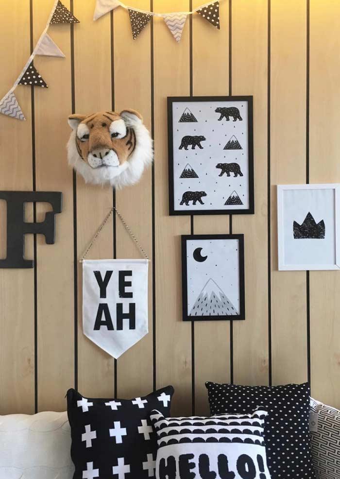 Elementos da natureza para decorar quartos infantis