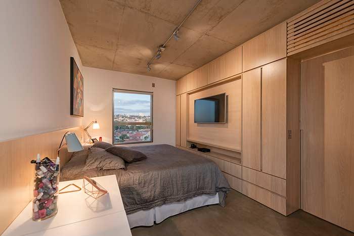 Um quarto versátil para mudar a decoração com o tempo