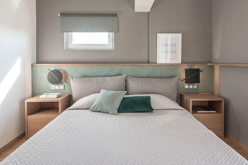 Decore o quarto utilizando as tonalidades de uma cor