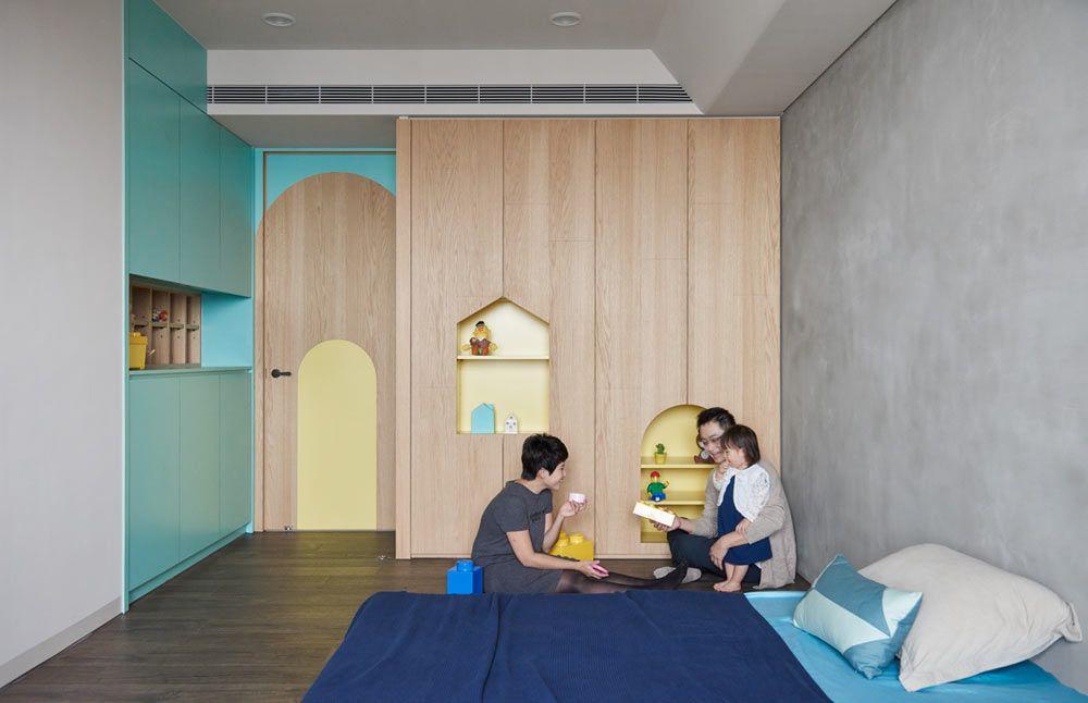 Quarto para os apaixonados em arquitetura
