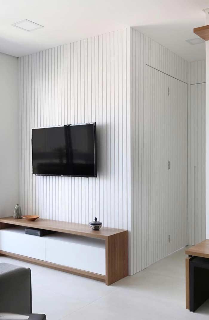 Aberturas do apartamento com portas camarão