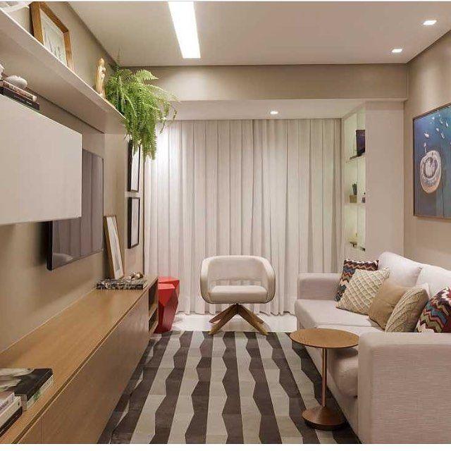 Escolha um tapete marcante para sua sala