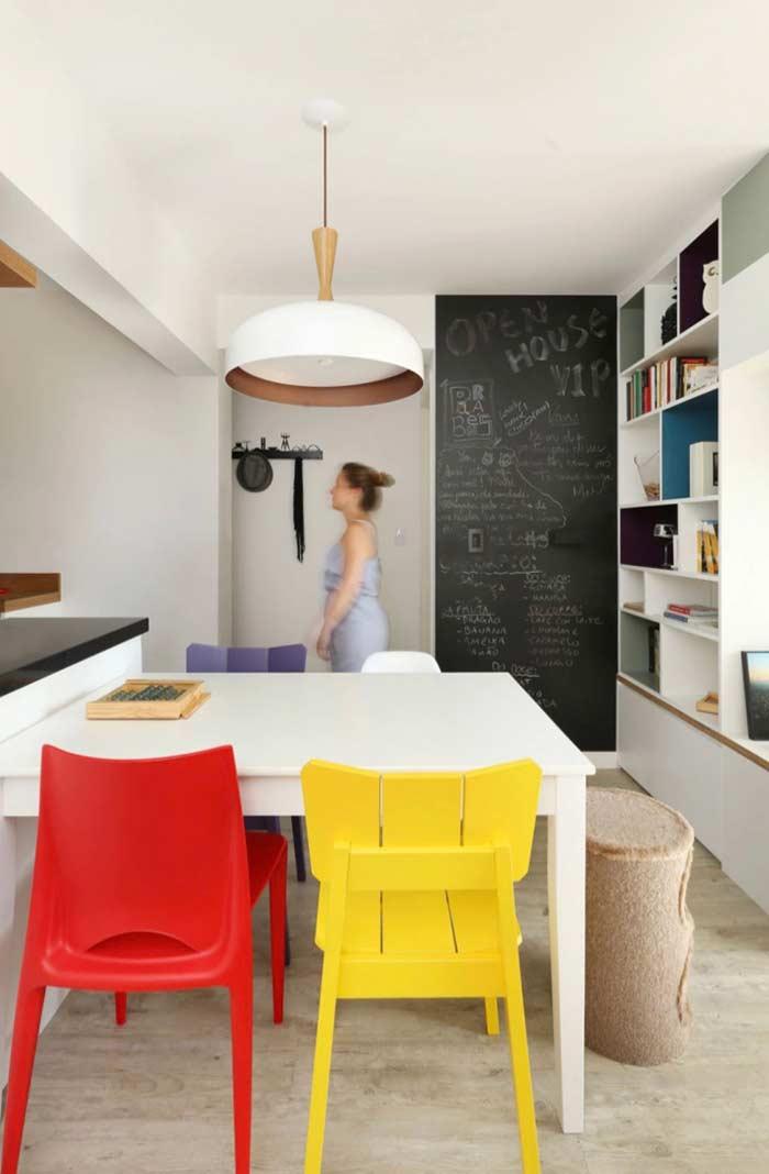 Ambiente com piso vinílico