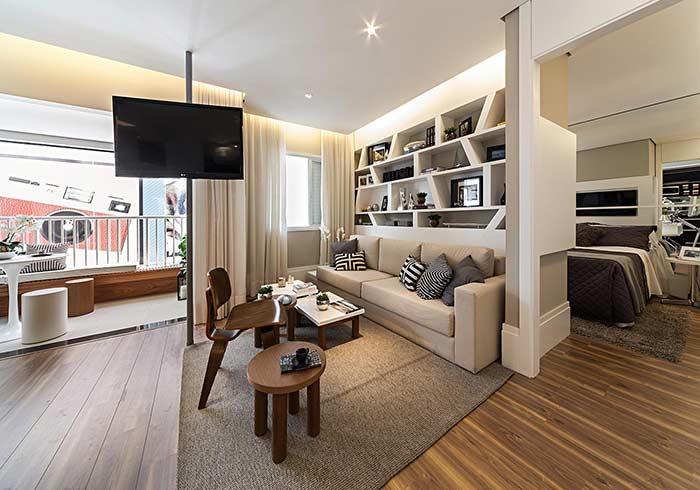 Forre o apartamento todo com o piso vinílico