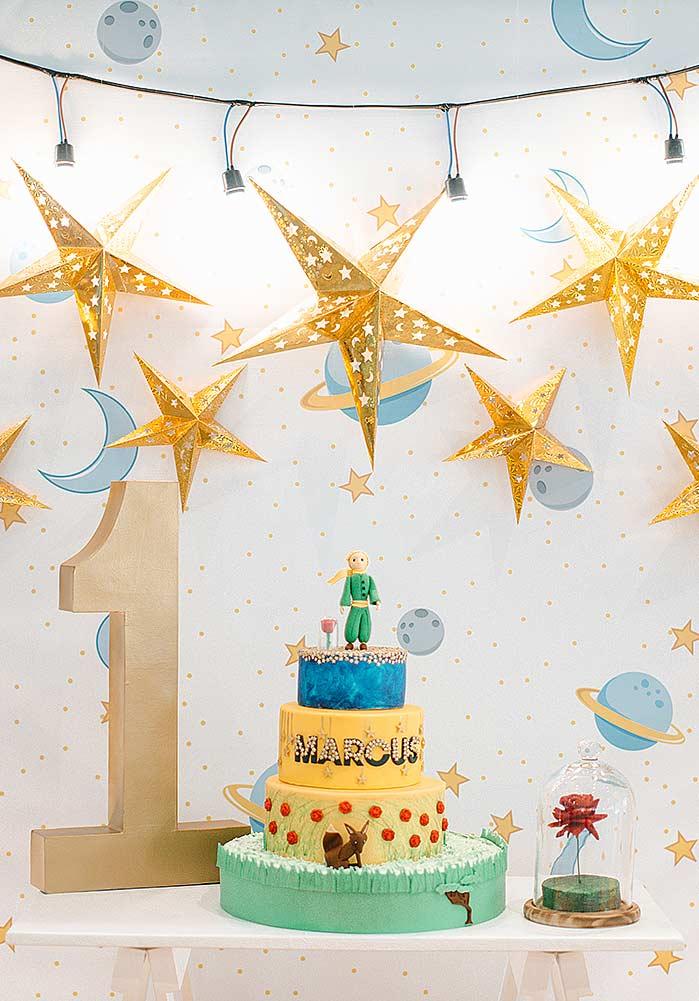 Festa Do Pequeno Príncipe 60 Ideias De Decoração E Fotos Incríveis