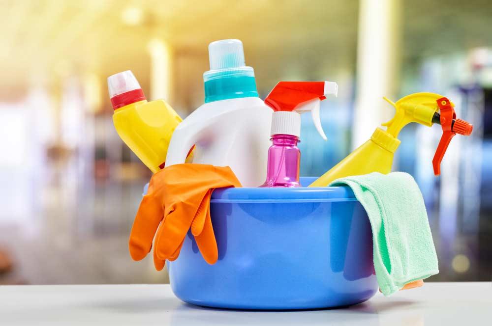 Itens de limpeza