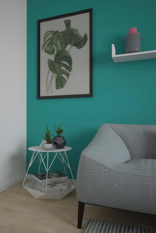 Renove o visual da sua sala com uma pintura simples
