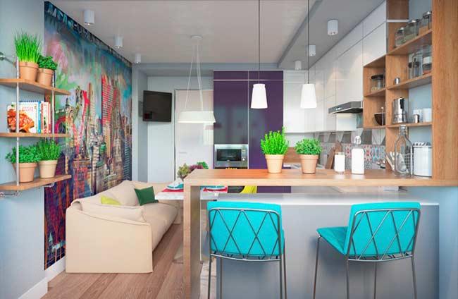 Para quem ama uma casa colorida