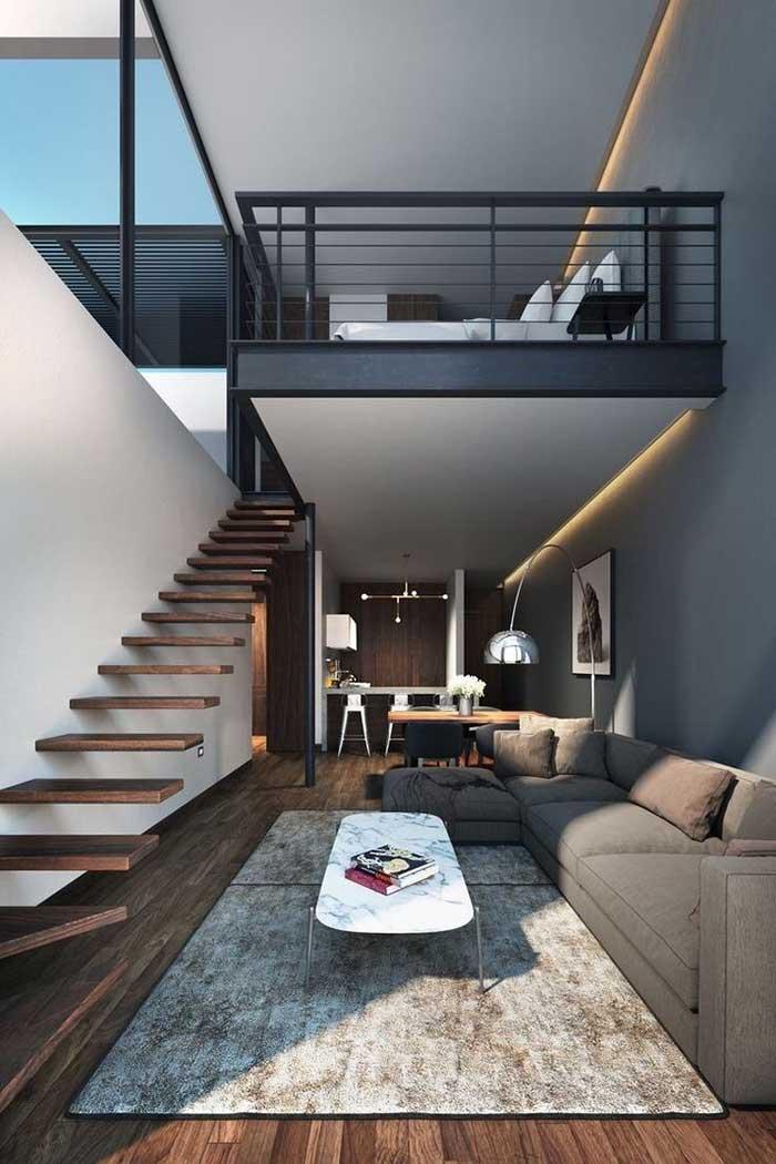 Layout tradicional de loft