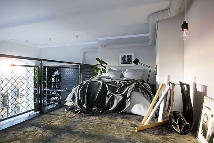 A paixão dos apartamentos masculinos