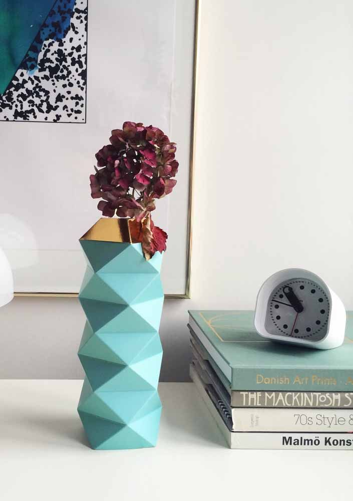 Um vaso 3D pode ser tudo o que sua sala precisa