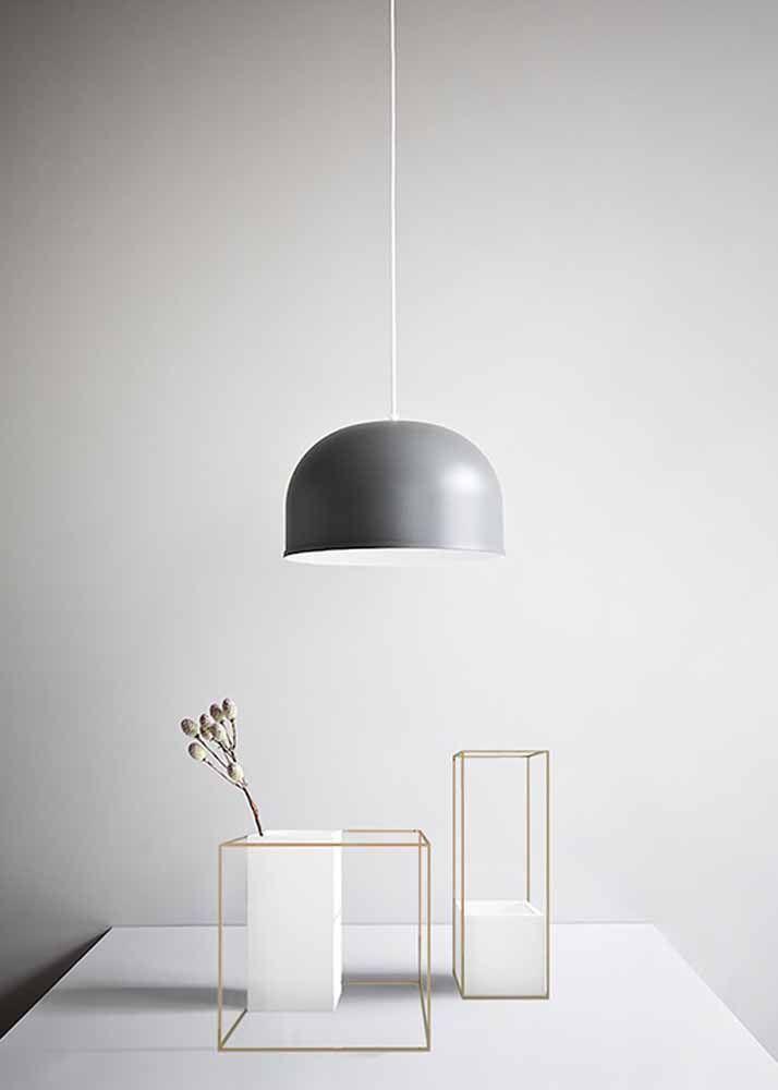 Modernos e minimalistas: na cor e no formato