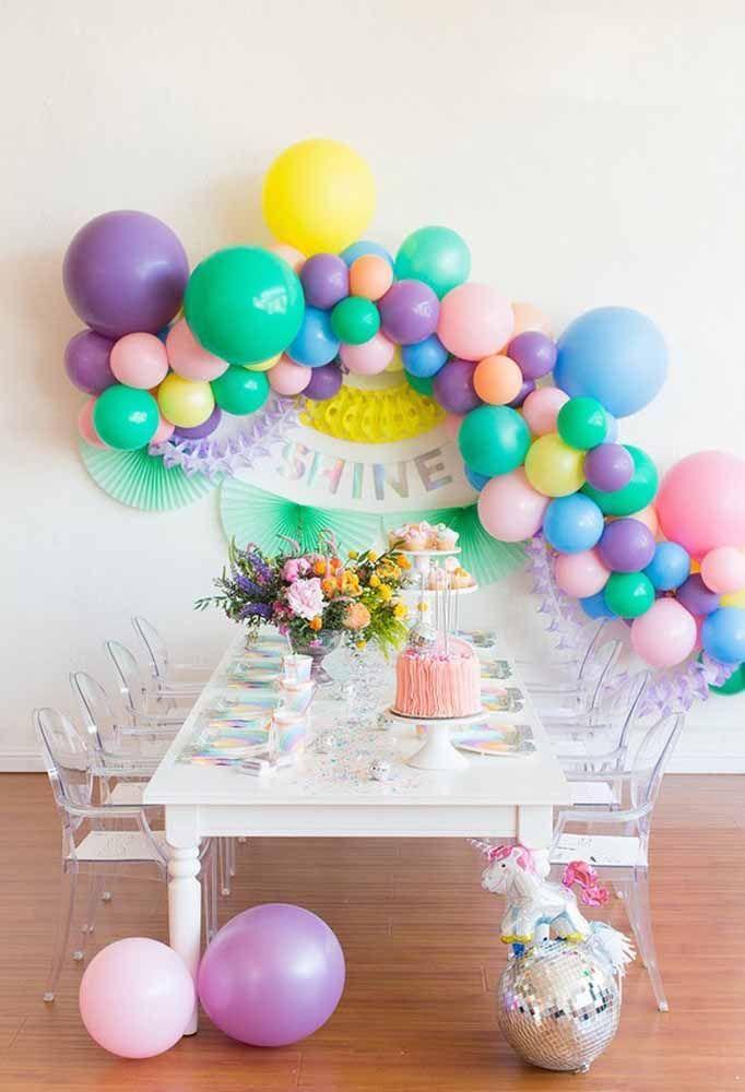 Prepare uma linda mesa só para a criançada