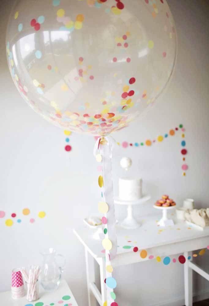 Dê um toque colorido para uma decoração totalmente clean