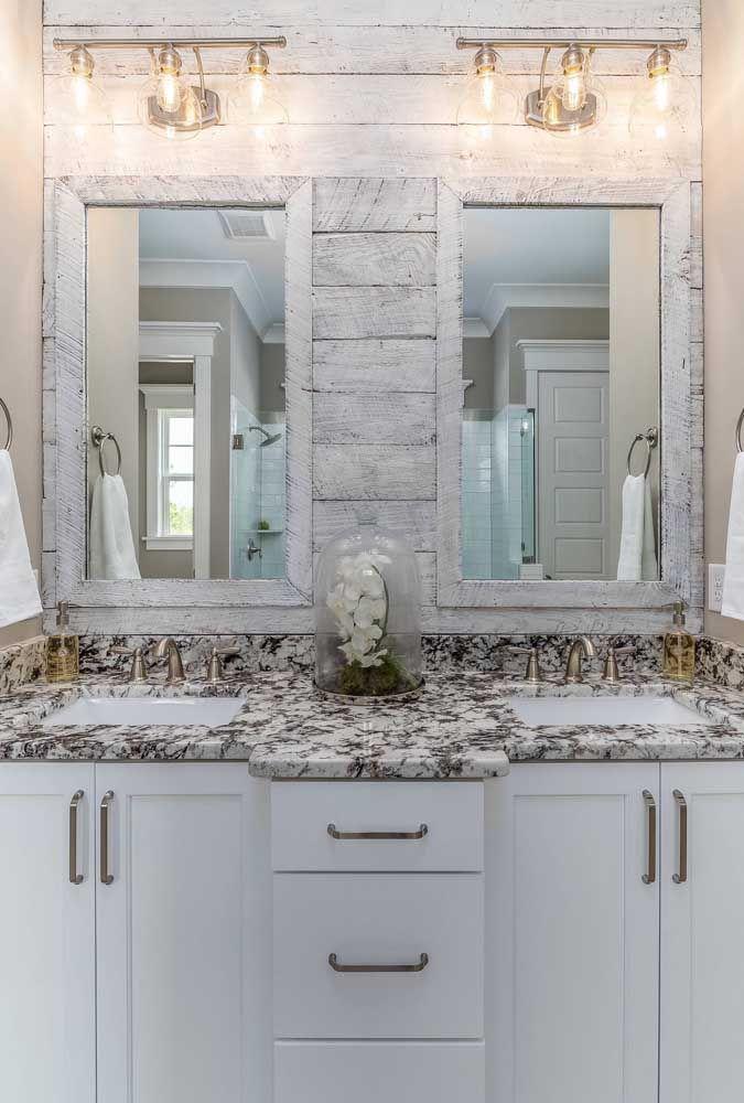 Está na dúvida se um granito cheio de textura pode ficar bom no banheiro? Esse projeto vai tirar sua insegurança