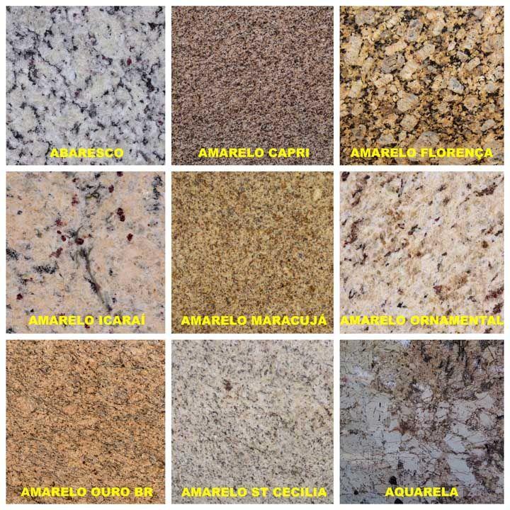 Tipos de granito quais s o 60 fotos cores e exemplos - Colores de granito ...