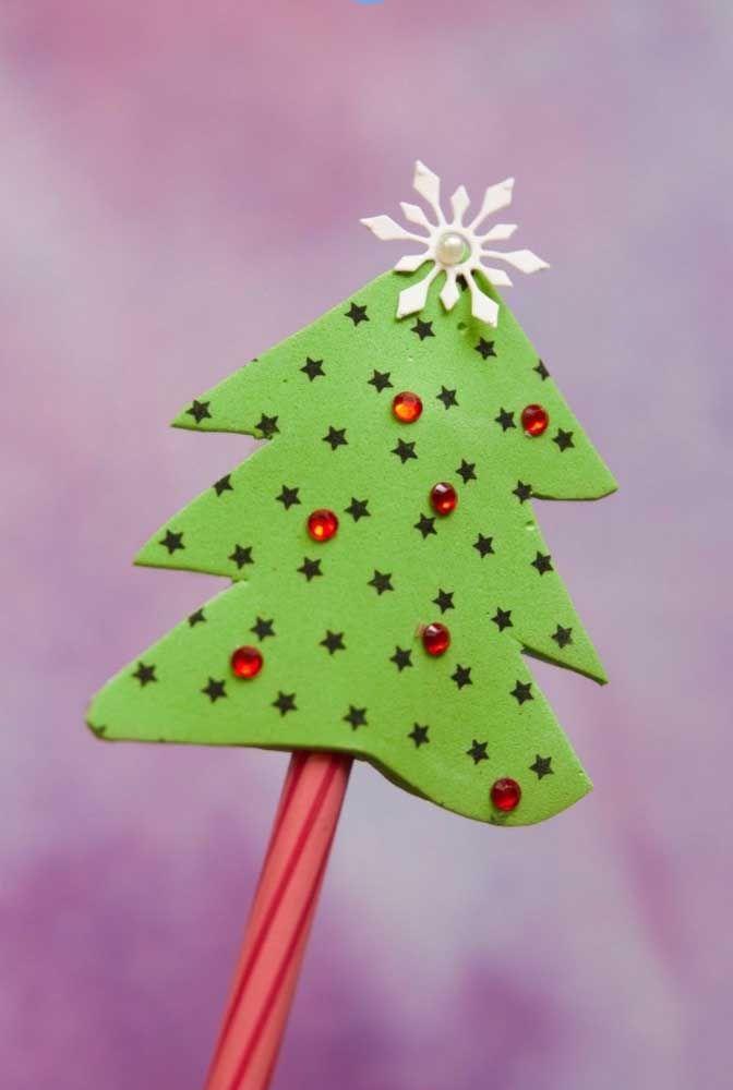 Na decoração de natal, o EVA também revela toda sua versatilidade