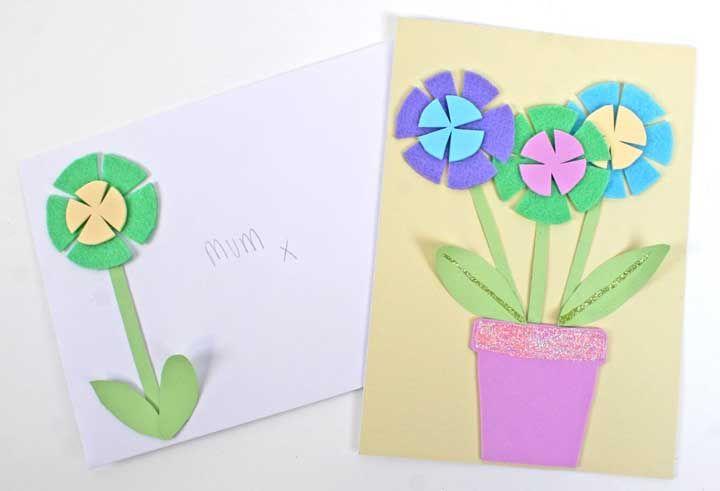 Cartas, convites e cartões podem ficar mais bonitos com flores de EVA
