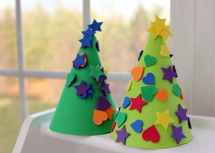 Quer árvore de natal mais simples do que essa?