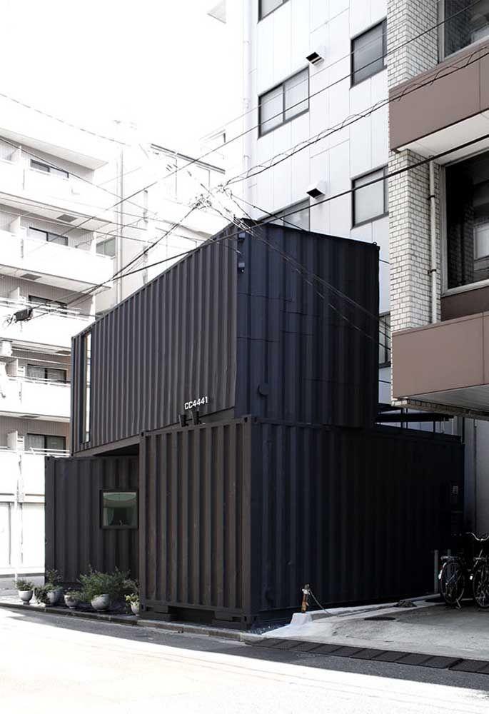 O container permite que você faça uma casa em qualquer espaço e com a estrutura que quiser.