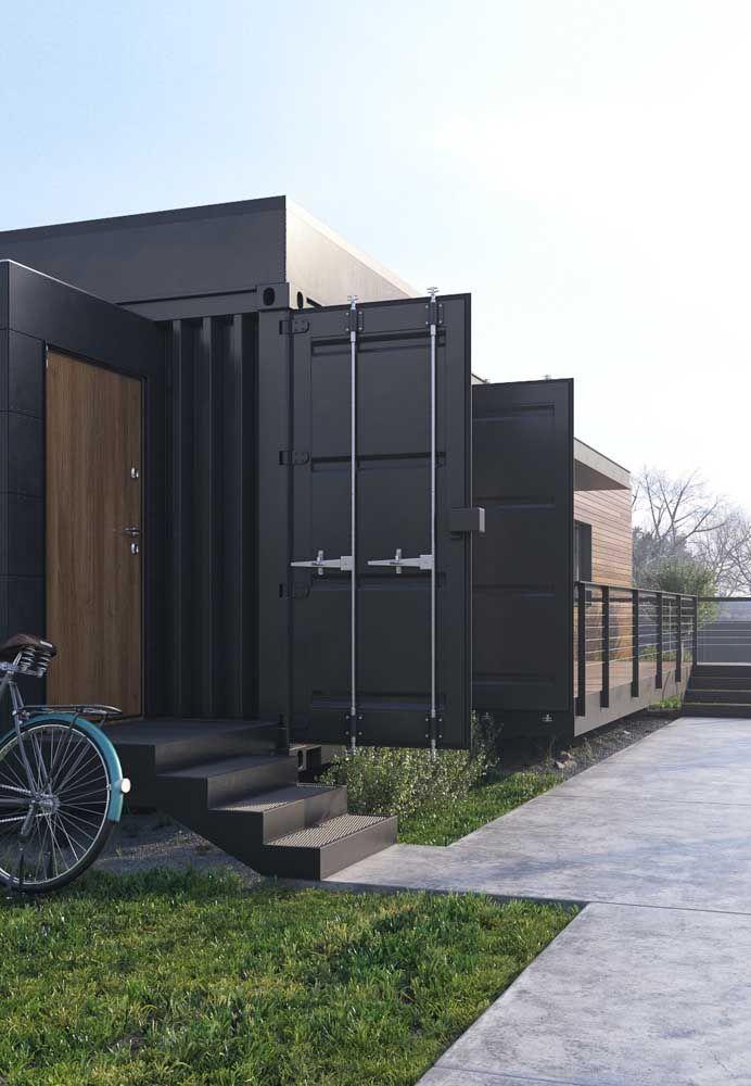 Para os que desejam manter uma casa mais moderna, o recomendado é usar a estrutura mais escura.