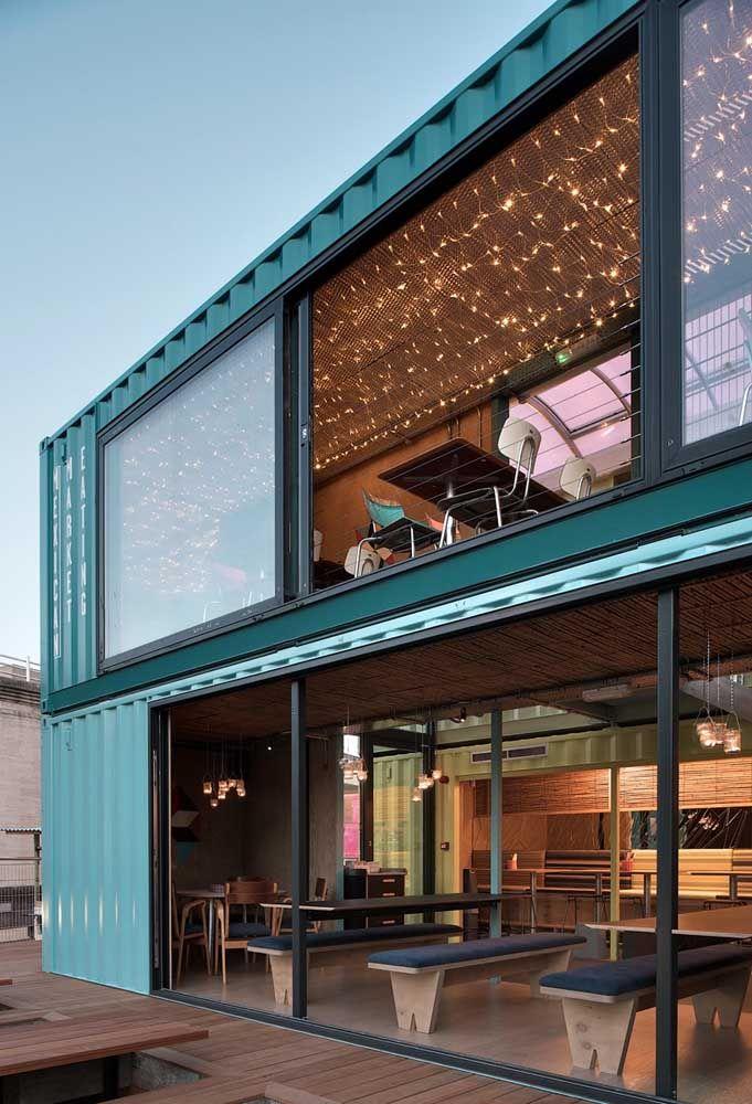 Que tal montar o seu negócio dentro de uma casa container?