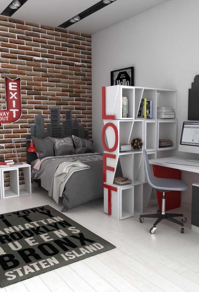 Adolescentes adoram coisas diferentes e inovadoras. Portanto, invista em um quarto com design moderno.