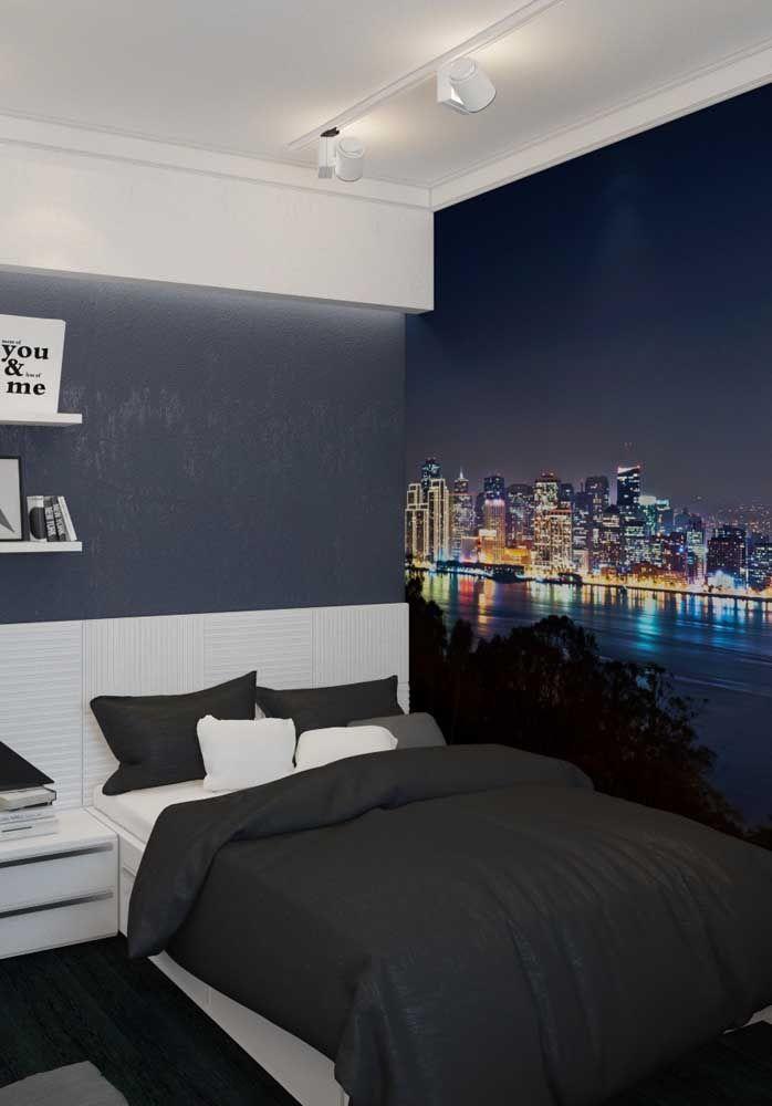 Que tal reproduzir um belo cenário em uma das paredes do quarto de adolescente? O resultado é surpreendente!
