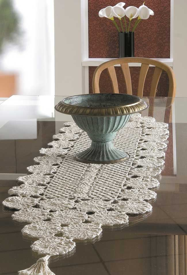 Caminho de mesa para incrementar qualquer mesa