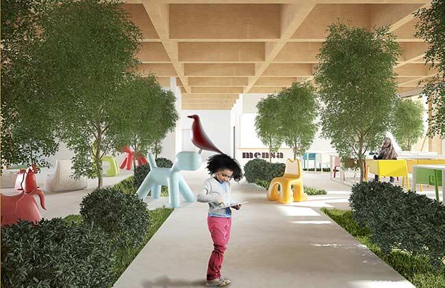 Crie pequenos corredores verdes