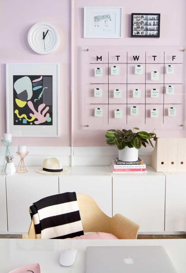 Home office para espaço pequeno
