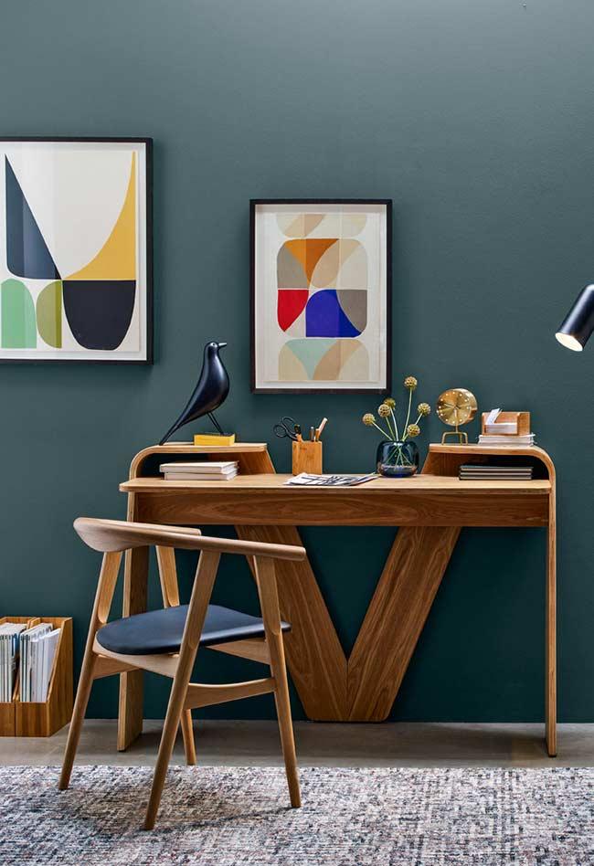 Uma composição moderna para um home office