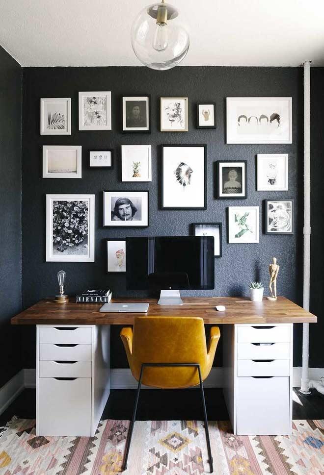 Decore a sua parede com posters